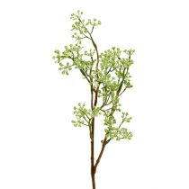Deco branch green L43cm 4pcs