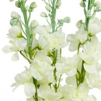 Delphinium white artificial delphinium silk flowers artificial flowers 3pcs