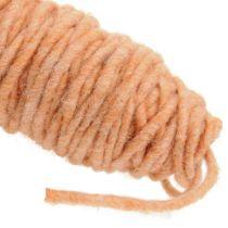 Wick thread 55m light orange
