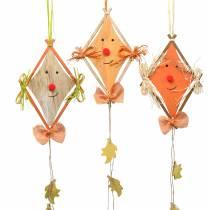 Autumn decoration Dragon for hanging 20cm x 13cm 3pcs
