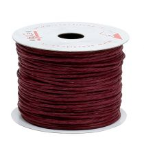 Wire wrapped in 50m Bordeaux