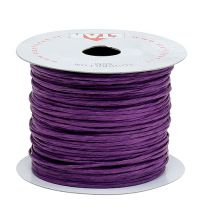 Wire wrapped in 50m purple