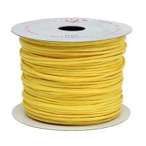 Wire wrapped 50m yellow