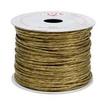 Wire wrapped around 50m of gold
