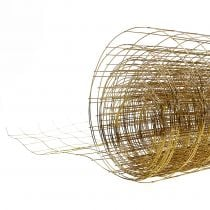 Wire mesh gold 35cm 5m