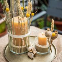 Colored candles Honey colors Different sizes