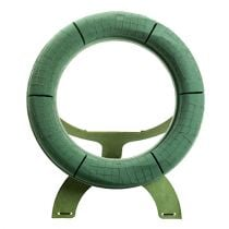 Floral foam wreath with stand Ø50cm