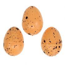 Styrofoam egg orange 3,5cm 24pcs