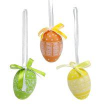Hanging eggs plastic 5cm 27pcs