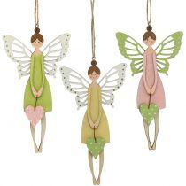 Decoration to hang Elfe 21cm 3pcs