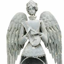 Deco angel metal 72cm