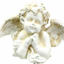 Grave decorations Deco plug Angel praying 5cm 4pcs