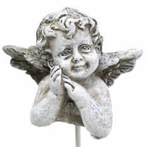 Grave jewelry decorative plug angel 3.5cm 8pcs