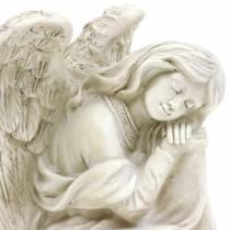 Decorative angel sitting 19cm x 13.5cm H15cm