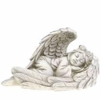 Deco angel sleeping 18cm x 8cm x 10cm