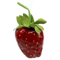 Artificial strawberry 18cm red 1pc