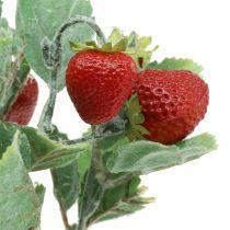 Artificial strawberry pick red L30cm