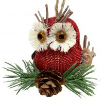 Owl for hanging autumn decoration 3pcs