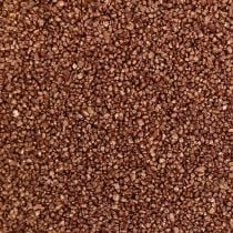 Colored sand copper decorative sand brown Ø0.5mm 2kg