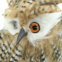 Decorative owl, autumn, forest animal, winter decoration H27cm