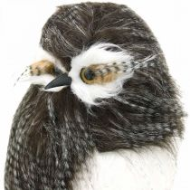 Forest owl, winter decoration, decorative owl, autumn H41cm