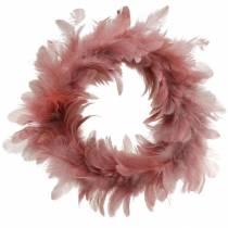 Easter decoration spring wreath old rose Ø18cm spring decoration