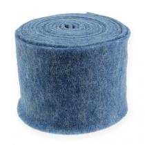Felt tape blue 15cm 5m