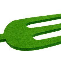 Felt garden tool green 4pcs