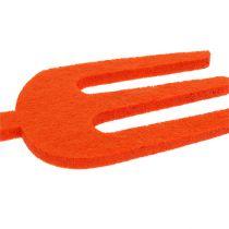 Felt garden tool orange 6pcs