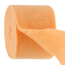 Felt tape light orange 15cm 5m