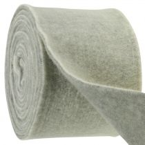 Felt tape 15cm x 5m two-tone gray, white