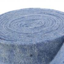Felt tape blue 7,5cm 5m