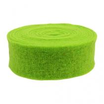 Felt tape green 7,5cm 5m