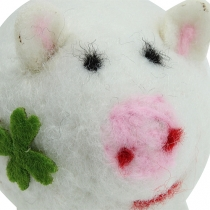 Lucky pig felt 7cm 3pcs