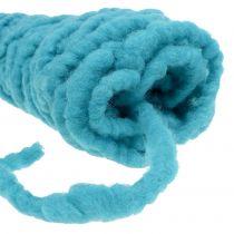 Felt cord Velcro Mirabell 25m turquoise