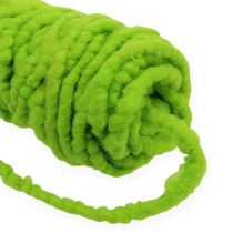Felt Cord Flausch Mirabell 25m Green