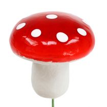 Toadstools on a wire 3.5cm 100pcs