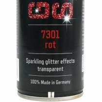 Glitter spray red 400ml