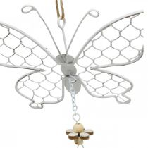 Spring decoration, metal butterflies, Easter, decoration pendant butterfly 2pcs