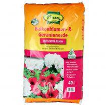 FRUX balcony flower and geranium soil 40l