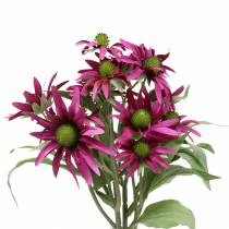Echinacea flower artificial Erika 45cm 3pcs
