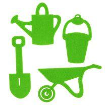 Garden Tools Felt Green 24pcs