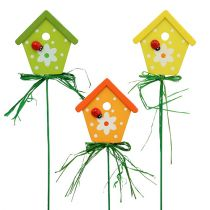 Garden plug bird house 7cm 18pcs