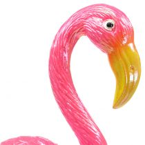 Garden plug flamingo pink 15cm