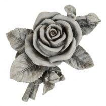 Rose for Grave Jewelery Gray 16cm x 13.5cm 2pcs