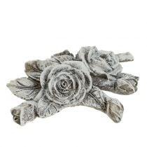 Rose for grave decorations Polyresin 10cm x 8cm 6pcs