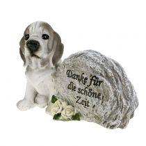 Memorial stone for dogs 8cm x 11.5cm x 7cm 2pcs