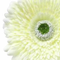 Gerbera artificial white 62cm 6pcs