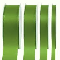 Gift and decoration ribbon green 50m