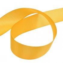 Gift ribbon decoration ribbon orange silk ribbon 40mm 50m